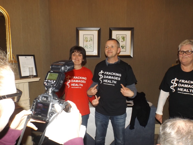 Richard Boyd Barrett TD at the launch of the Concerned Health Professionals Ireland, 18th May.