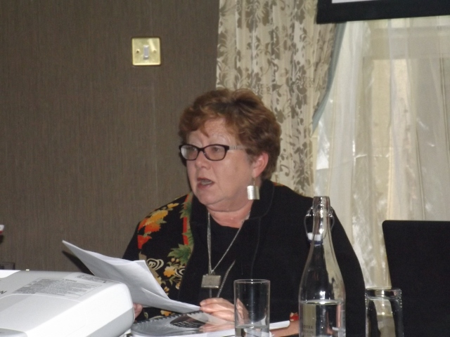 Dr Paula Gilvarry Public Health doctor who spoke at the launch of the Concerned Health Professionals launch 18th May